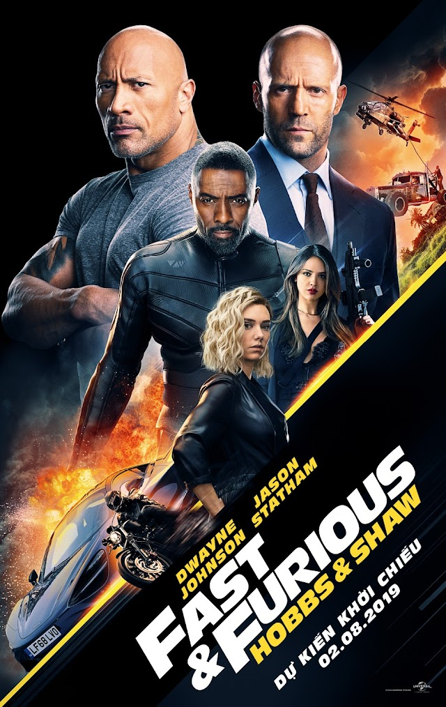 Fast & Furious Presents: Hobbs & Shaw - Quá nhanh quá nguy hiểm HD CAM Việt Sub