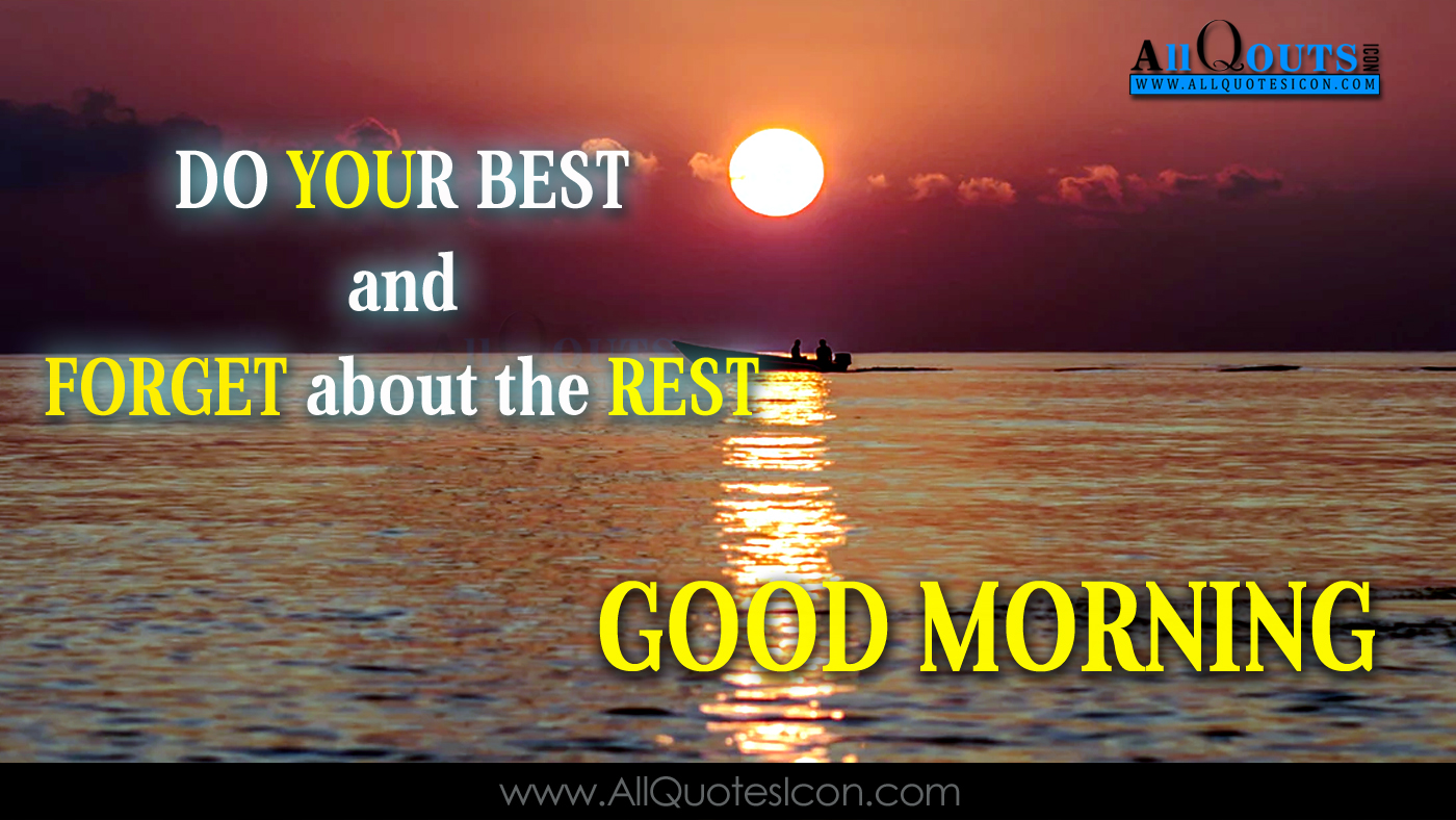 Good Morning Quotes Greetings In English Pictures Online Messages