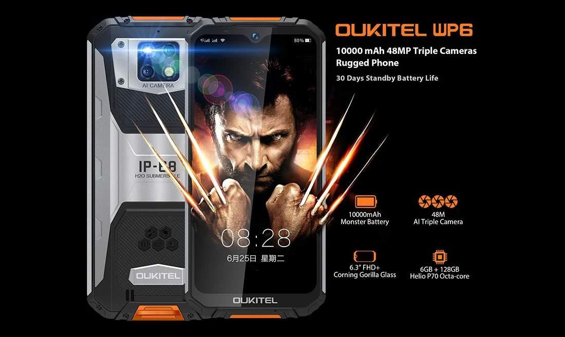 Smartphone Android dengan Baterai 10000 mAh (gizmochina.com)