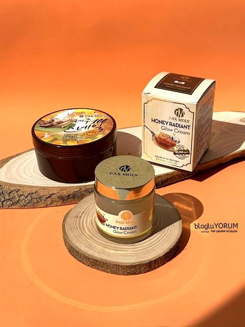 limonian alışverişim ve pax moly honey radiant glow cream bal özlü incelemesi