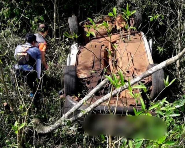 Un trágico siniestro ocurrido sobre la ruta nacional 12 - en Puerto Iguazú- y que dejó dos muertos y un herido.