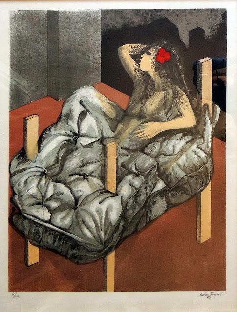 Jordi Andreu Fresquet obra gráfica litografia