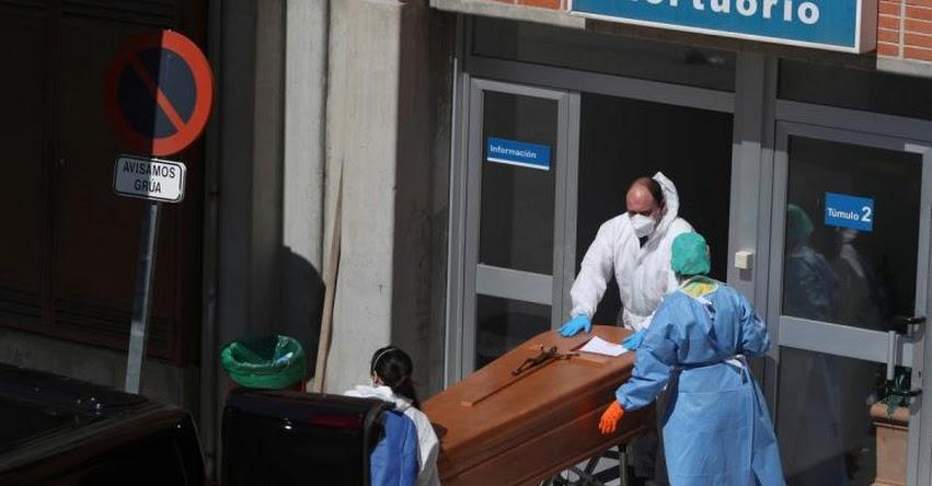 CORONAVIRUS EN ESPAÑA: La cifra de fallecidos diarios supera el máximo a 838, el total se eleva a más de 6 mil y más de 8 mil nuevos casos
