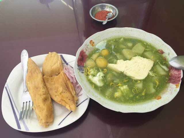 receta peruana del caldo de paico