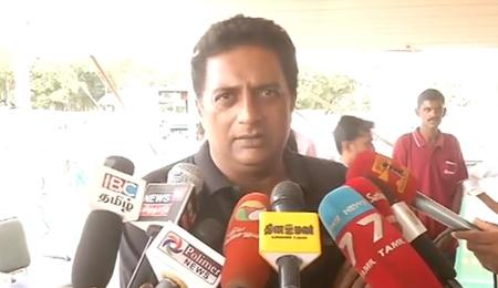 Prakash Raj speaks on Ashok kumar suicide