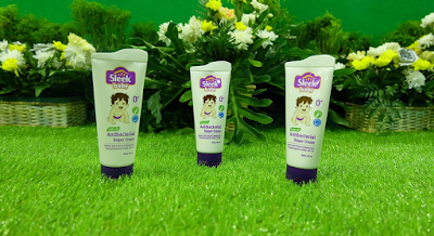Sleek Diaper Cream Khusus Bayi