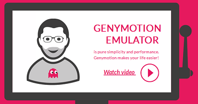 Genymotion Andorid Emulator for PC