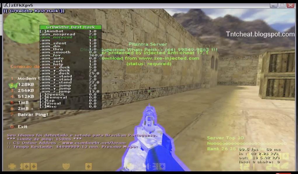 patch v23 cs 1.6 baixaki