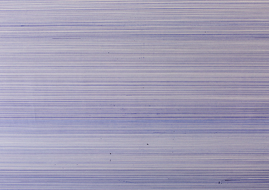 Tom Lore de Jong, 10.996 Meter, 2016, single line to the deepest point of the ocean, contemporary drawing