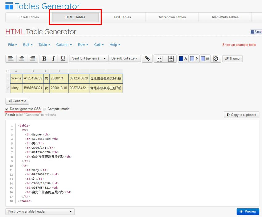 webpage-insert-table-html-tablesgenerator-3.jpg-網頁插入表格不再麻煩﹍線上產生器 + 可匯入 csv 檔(Tables Generator)