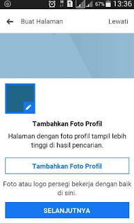Cara Membuat Fanspage Facebook Lewat HP Android