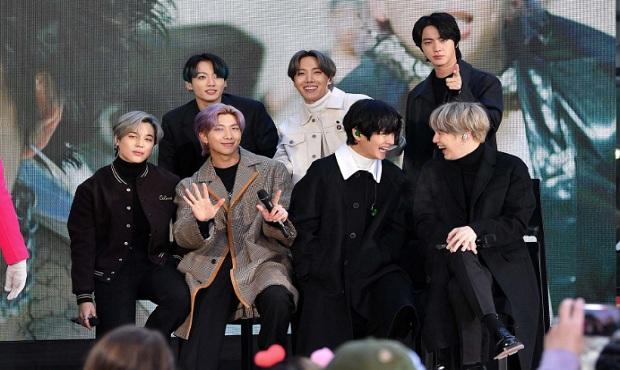 """""""La vida continúa"""" del grupo K-pop BTS, en la cima del top 100 en Estados Unidos"""
