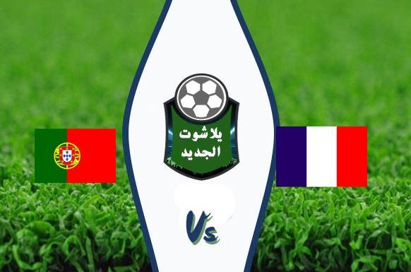 نتيجة مباراة البرتغال وفرنسا اليوم الاحد 11 / أكتوبر / 2020 دوري الامم الاوروبية