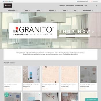 Lantai Keramik Granit Ubin Terbaik dari Granito