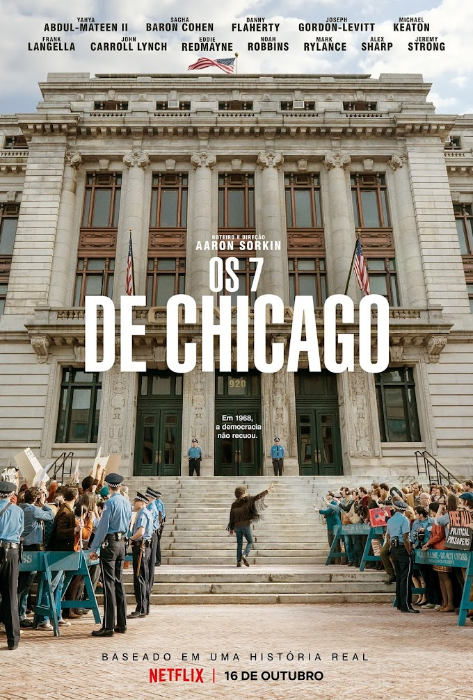 Netflix libera trailer do filme 'Os Sete de Chicago'