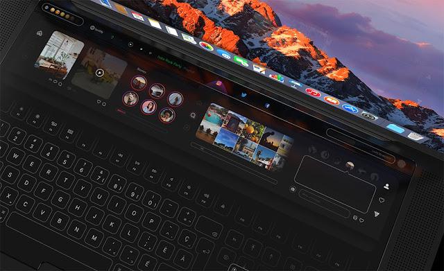 genial-MacBook-pro-con-diseño-de-teclado-táctil
