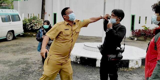 Oknum ASN Dan Satpam Bersikap Arogan Terhadap Wartawan, PFI Kota Medan: Perbuatan Yang Memalukan