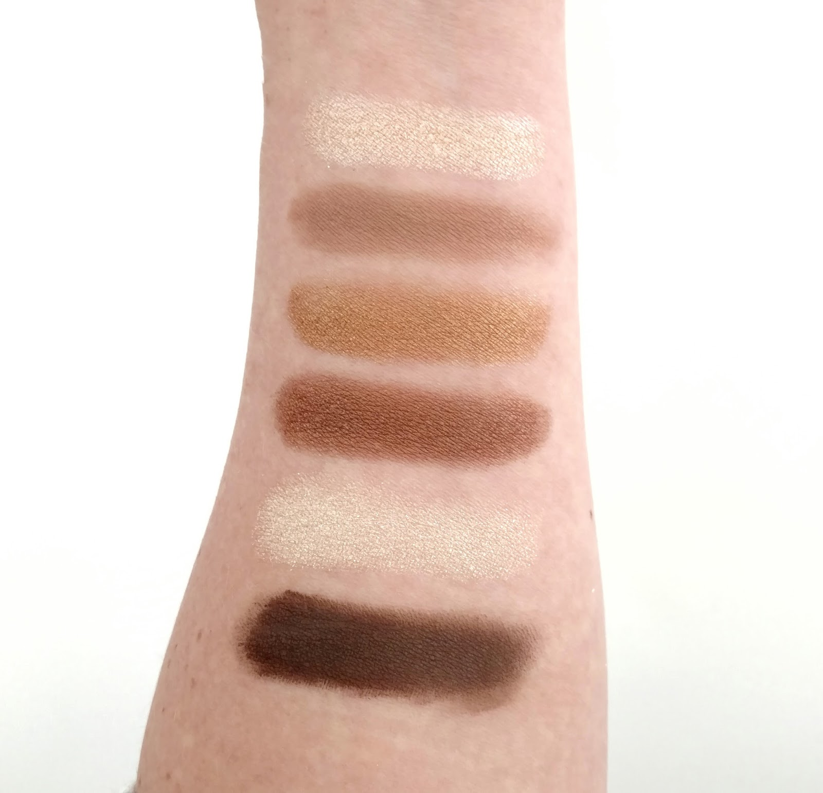 Milani Everyday Eyes Eyeshadow Palette Swatches
