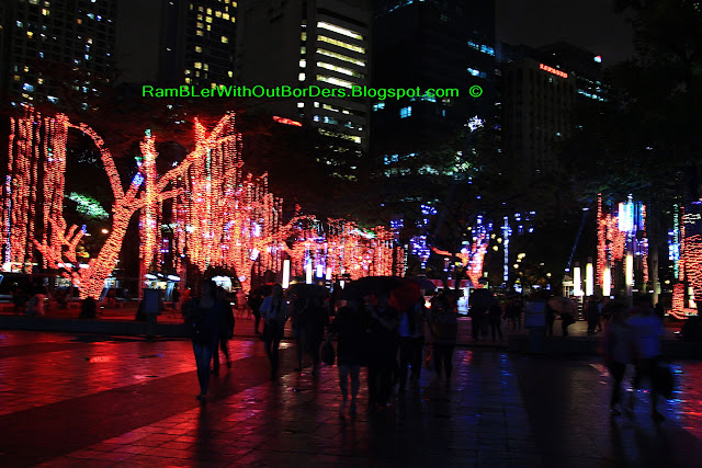 Festival of Lights, Christmas display, Makati, Manila, Philippines