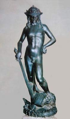 Voyage à Florence, Sculptures, David de Donatello, Donatello,