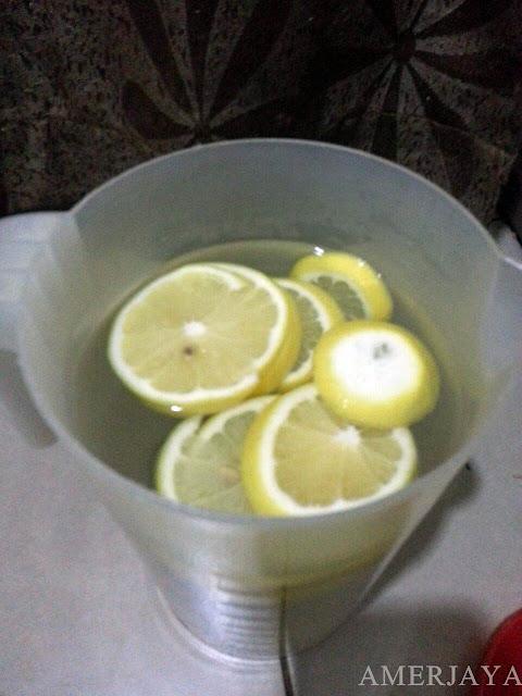 kurus dengan lemon detox