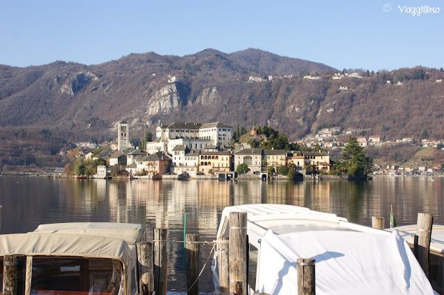 La magica Isola di San Giulio sul Lago d'Orta