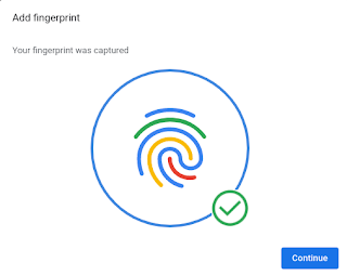 Add fingerprints using browser