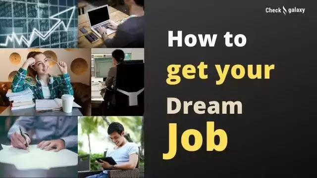 Dream job without experience