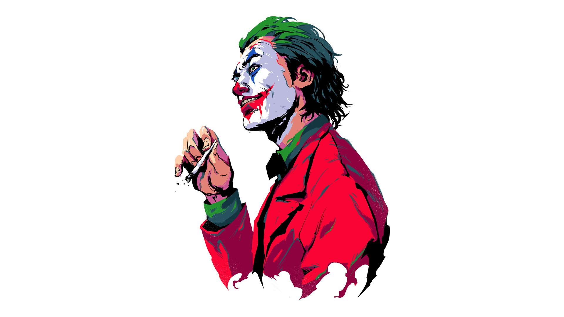 Joker Smoker Boy 4k Wallpaper
