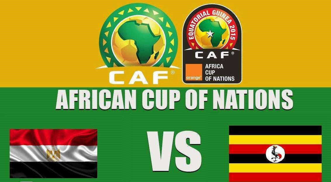 توقيت مباراة مصر وأوغندا اليوم القنوات الناقلة
