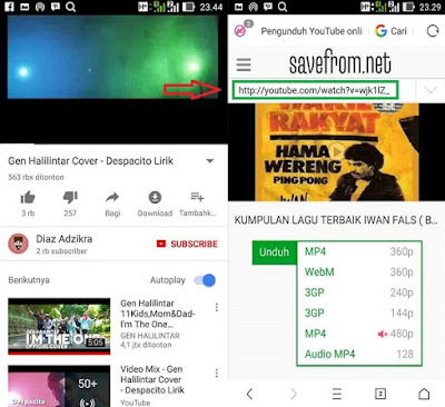 cara download video youtude di android dengan mudah