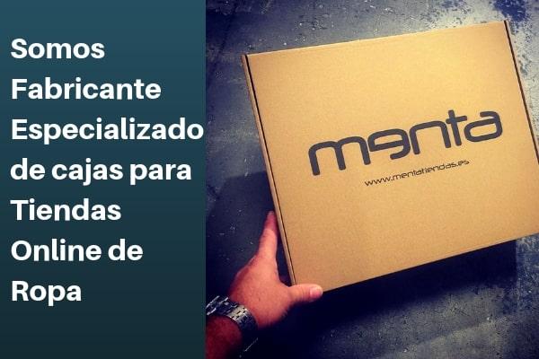 somos fabricante especializado en cajas para tiendas online de ropa