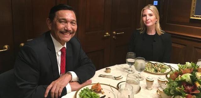 Luhut: Sekarang Trump sama Indonesia, karena Dia Berantem sama China