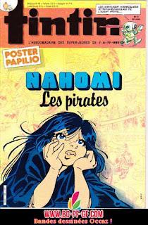 Fascicule Tintin, numéro 21, année 1985