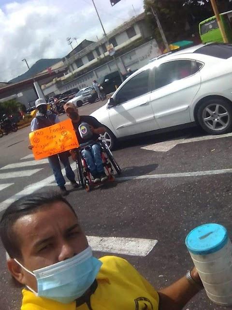 Atletas Paralímpicos Venezolanos deben pedir dinero en las calles como mendigos