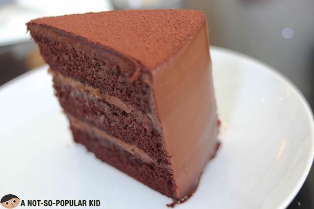 Fleur de Sel Chocolate Cake