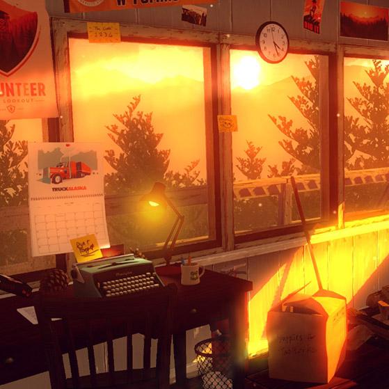 FireWatch Sunset Wallpaper Engine