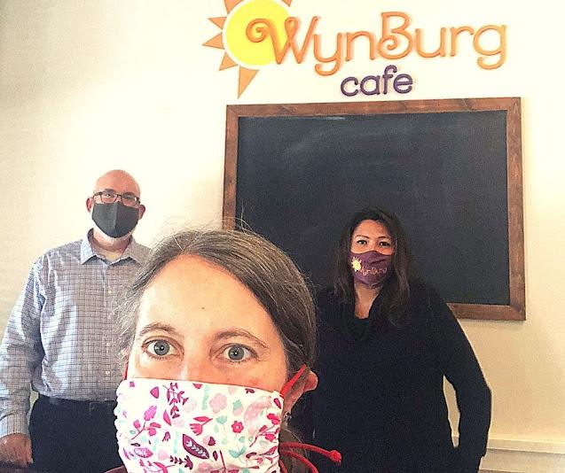 Meeting Patty Wynne and Steve Hamburg of WynBurg Cafe!