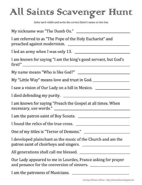 life resource center scavenger hunt About this resource a biblical scavenger hunt for events or teachings from jesus' life, using scripture passages from matthew, mark, luke, and john.