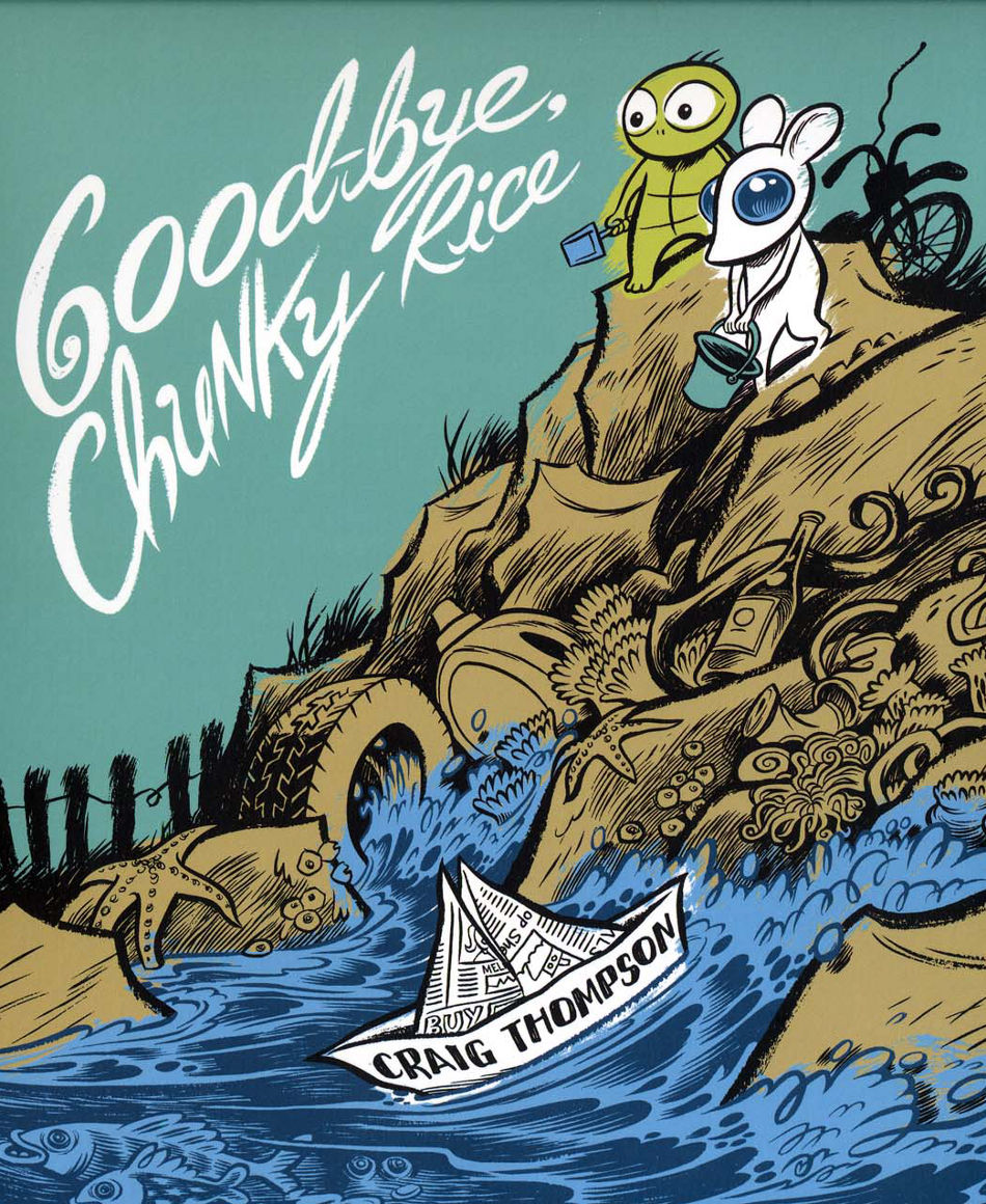 Cover page of Good-bye, Chunky Rice graphic novel