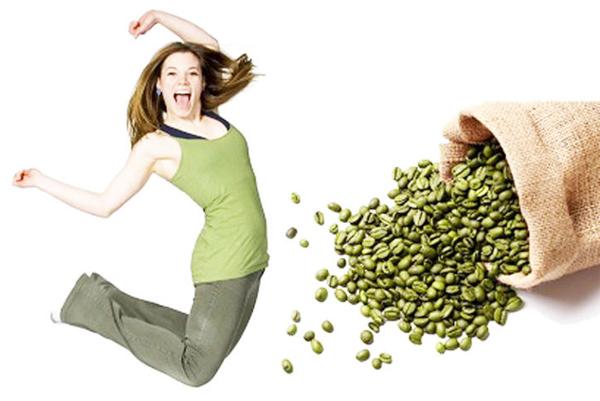 cách giảm cân từ hạt cà phê xanh