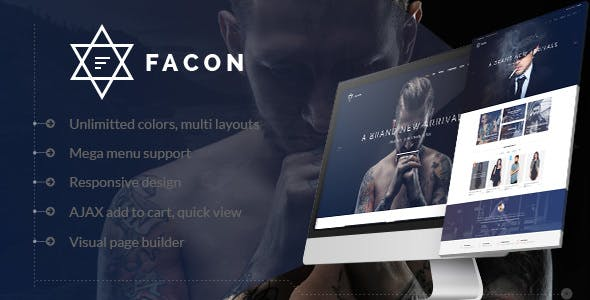 Facon v1.2 - Theme WordPress thời trang