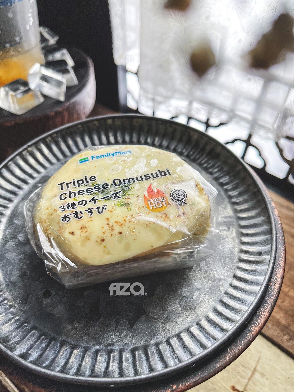 Triple Cheese Omusubi Family Mart