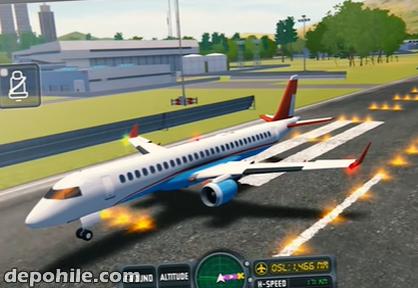 Flight Sim 2018 v3.1.1 Mod Para, Altın Hileli Apk İndir 2020