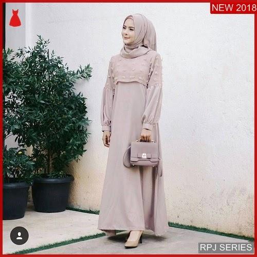RPJ221D222 Model Dress Sakinah Cantik Maxy Wanita