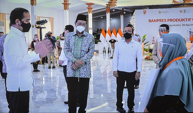 Presiden: Dalam Kondisi Pandemi, Kuncinya Tetap Semangat dan Kerja Keras