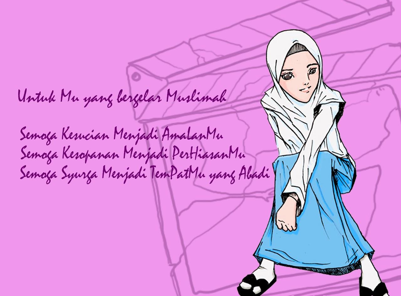 Kumpulan Gambar Kartun Muslimah Gaul Kantor Meme