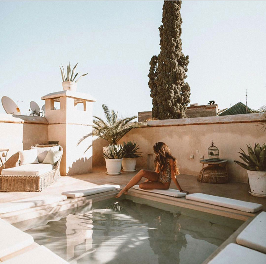 Weekday Wanderlust: 5 Beautiful Riads in Marrakech