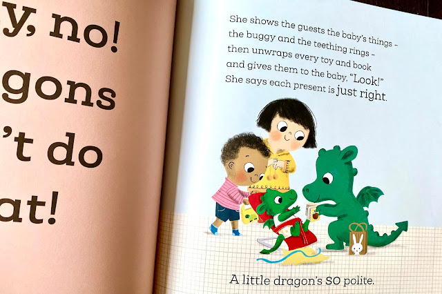 Example page from When A Dragon Meets A Baby