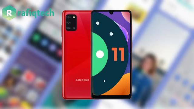 تحديث أندرويد 11 (One UI 3.1) لهاتف Samsung Galaxy A31 (مستقر)